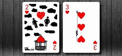 Cards Playing Hearts Deck Gifs Scenes Fun