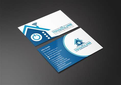 home design business bold serious business business card design for the