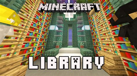 minecraft tutorial     library design coral