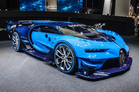 Delivering products from abroad is always free, however, your parcel may be subject to vat. FRANKFURT - SEPT 2015: Bugatti Chiron Vision Gran Turismo Presented At IAA International Motor ...
