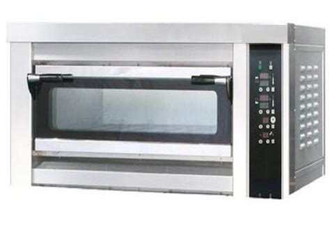 oven deck electric single bread baking tray stainless cake steel chemical