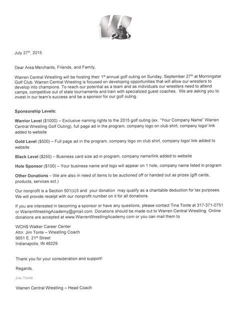 company sponsorship letter sponsorship letter treasury