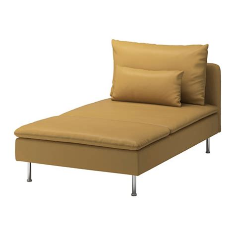 chaise ikea ikea soderhamn chaise slipcover cover samsta yellow