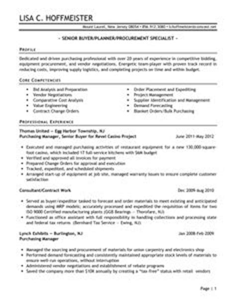 Senior Logistician Resume by 1000 Images About Resume On Resume Exles