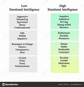 Diagram Of Emotional Intelligence  U2014 Stock Photo  U00a9 Vaeenma