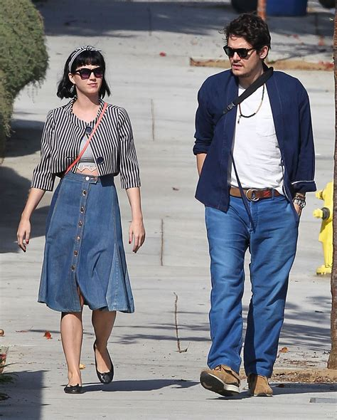 john mayer swimsuit katy perry and john mayer out and about in los angeles