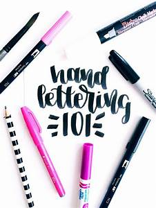 25 best ideas about fake calligraphy on pinterest With hand lettering pens for beginners