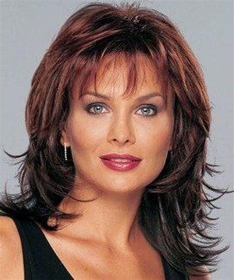125 Cute Hairstyles for Women over 50 Medium length hair