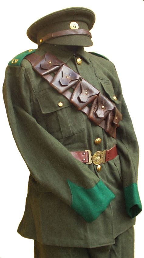 irish volunteers uniform  rising enlisted man