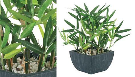pot de bambou artificielle pas cher