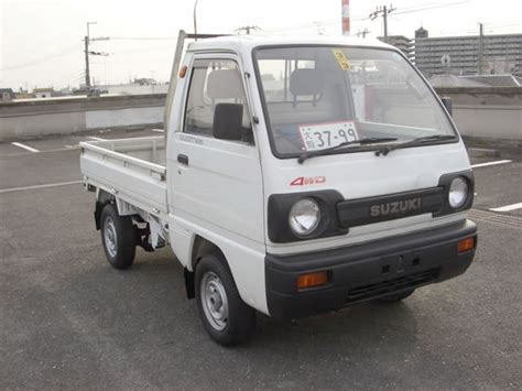 suzuki carry pickup suzuki carry 4wd pick up picture 1 reviews news