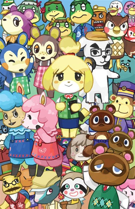 Animal Crossing Wallpaper List - acnl wallpaper list wallpapersafari