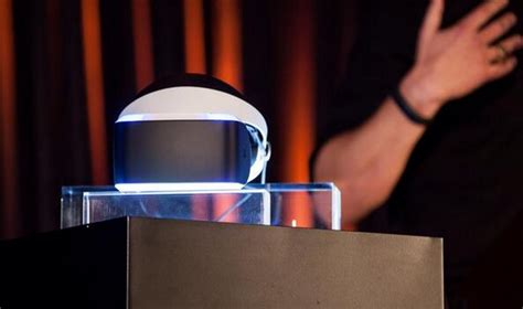 sony unveil  virtual reality future  ps