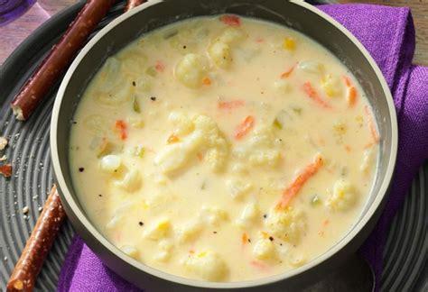 cette soupe cremeuse au chou fleur est une revelation