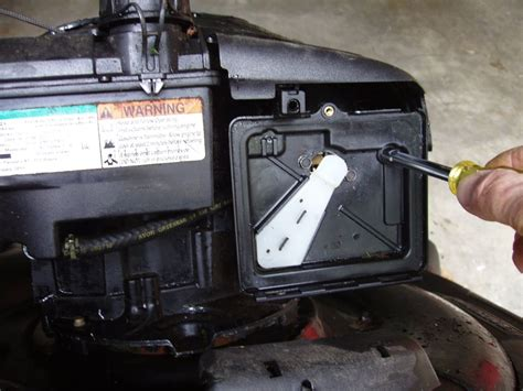 Push Mower Fuel Filter by Tune Up Your Lawn Mower 13 Steps With Pictures