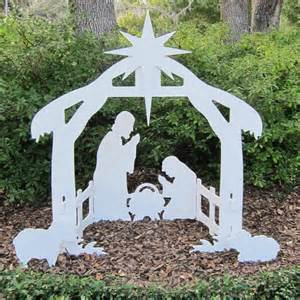 outdoor nativity set plastic outdoor nativity set