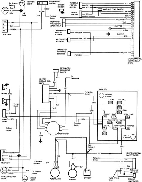 1983 C30 Wiring Diagram by Repair Guides Wiring Diagrams Wiring Diagrams