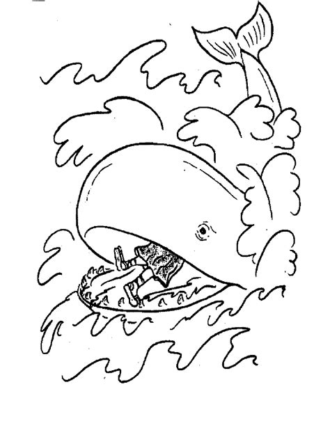 Jonah Coloring Pages Printable Coloring Pages