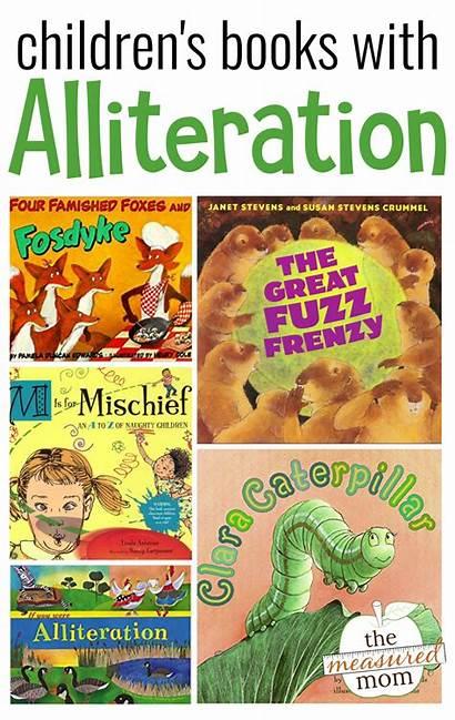 Alliteration Books Language Children Figurative Childrens Teaching