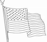 Flag Coloring Outline Printable Drawing Flags Usa Wave Sheets Sheet Bestcoloringpagesforkids Coloringfolder Drawings Colors Outlin Paintingvalley Duathlongijon sketch template