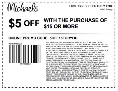 arts and crafts coupons coupons printable coupons in retail 6912