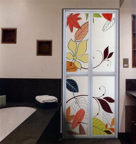 pintu tandas bi fold aluminium modern toilet door