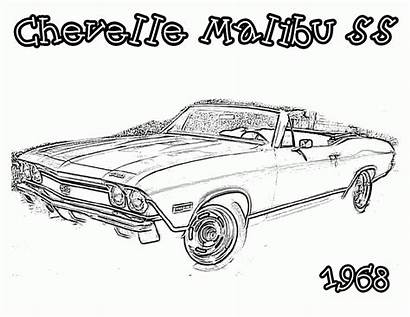 Coloring Cars Pages Printable Colouring Adults Classic