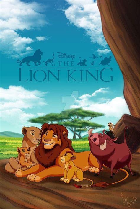 pin  gelesia marez  disney love lion king fan art