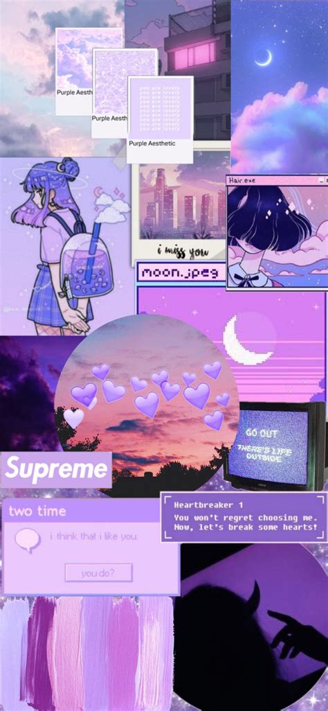 for iphone 11 in 2020 with images purple aesthetic