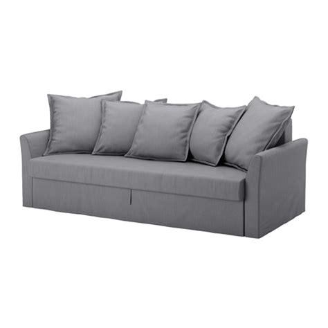 housse canapé lit holmsund housse de canapé lit 3 places gris moyen