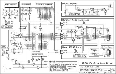 usb hub circuit diagram