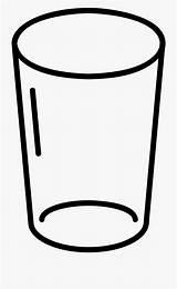 Glass Coloring Water Empty Clipart Pages Cartoon Lemonade Transparent Broken Netclipart Pngio sketch template