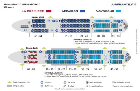 airbus a380 interior air airbus a380 seat map