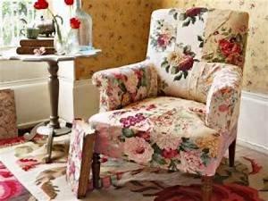 Salon En Anglais : photos canap anglais fleuri ~ Preciouscoupons.com Idées de Décoration