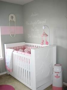 pink and gray nursery contemporary nursery hgtv With kitchen colors with white cabinets with pink and gray nursery wall art