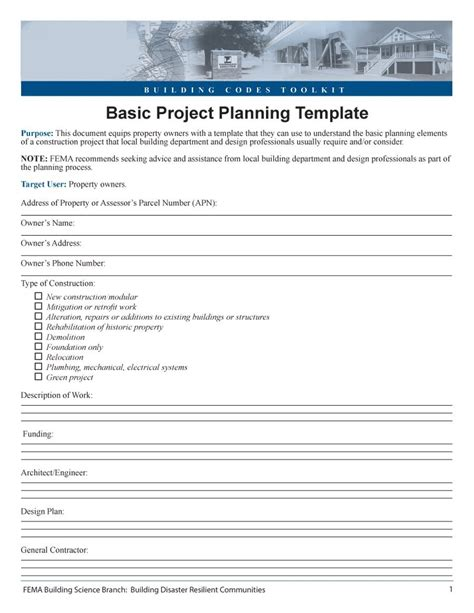 project template 48 professional project plan templates excel word pdf template lab