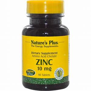 Nature U0026 39 S Plus Zinc - 10 Mg - 90 Tablets