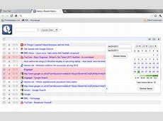 3 Chrome History Manager Extensions For Searching And Sorting