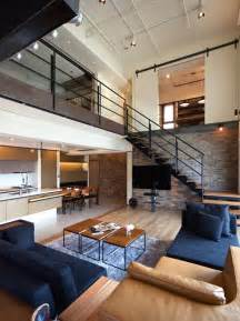 great room layout ideas two story penthouse in taiwan displaying contemporary