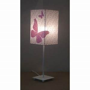 Petite Lampe De Chevet : lampe de chevet liberty rose papillon rose ~ Teatrodelosmanantiales.com Idées de Décoration