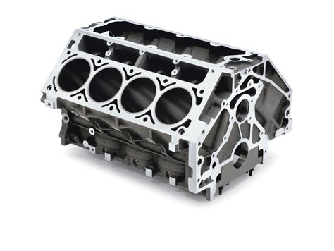 Chevrolet Performance 57l Ls1ls6 Aluminum Engine Block