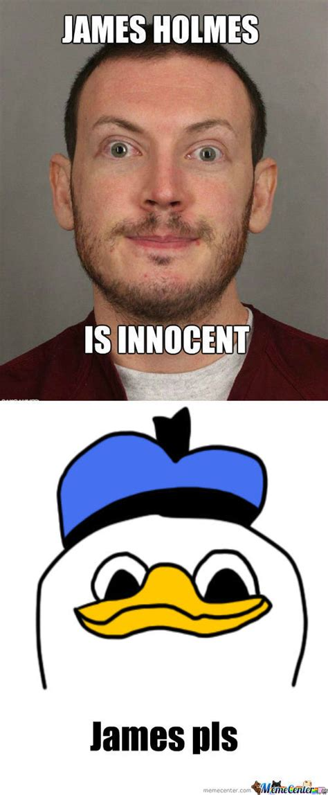 James Meme - rmx breaking news james holmes is innocent by ducani meme center