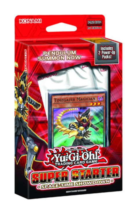 Yugioh Structure Deck List 2014 by Starter Space Time Showdown Yugioh Products