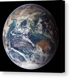Blue Marble Image Of Earth (2005) Canvas Print / Canvas ...