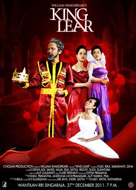 king lear poster  satyaintershuty  deviantart