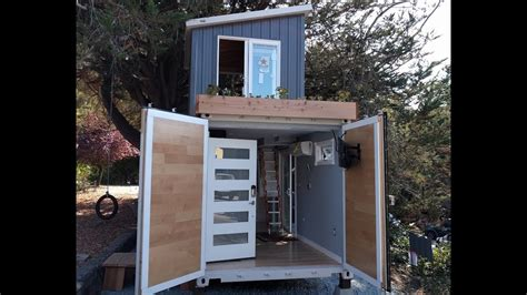 boxed haus  story shipping container home youtube