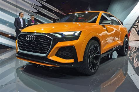 Again, With More Intensity Audi Q8 Concept Returns As A