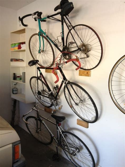 Garage Organization Ideas For Bikes by Stacking Leaning Garage Bike Rack Bike Garage Bike