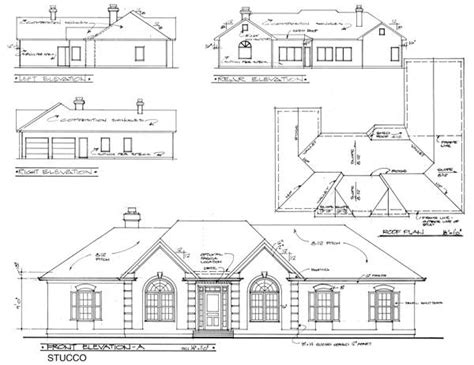 elevation of house plan the vaughn 6307 3 bedrooms and 2 5 baths the house