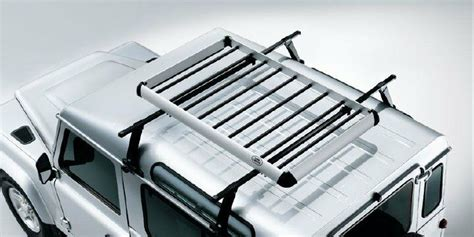 land rover defender genuine roof rack luggage carrier part lr006848 ebay
